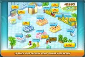 Supermarket Mania iphone game